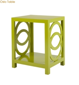 Shine Home - Oslo Talbe in Green, but also available in 4 other colors