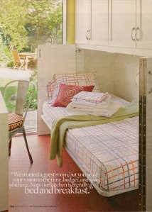 Guest Room Double Duty - Better Homes & Garden - Sept. 2009 issue