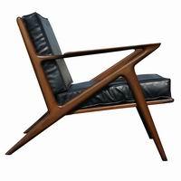 Danish Poul Jensen Selig Teak Z Lounge Chair