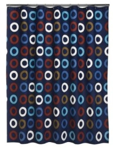 "Home Crew Circle Shower Curtain - Multicolor (72x72"")"
