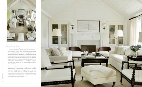 Nantucket Monochromatic Living Room
